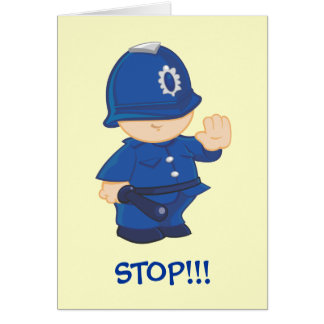 Cartão Polícia