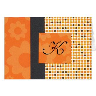 Cartão PolkaDot Notecard inicial