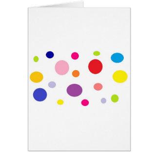 Cartão polkadots