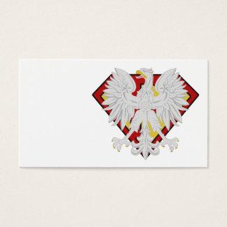 Cartão polonês super - você personaliza