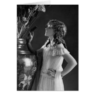 Cartão Pomba de Billie/Lillian Bohny