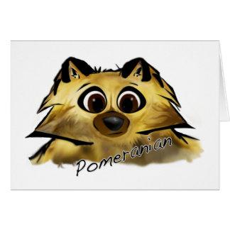 Cartão Pomeranian