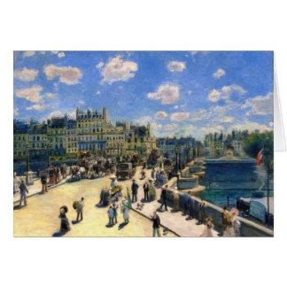 Cartão Pont Neuf, Paris