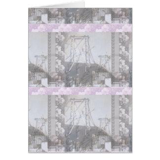 Cartão Ponte Brooklyn PoppiePlaid Giftcard de