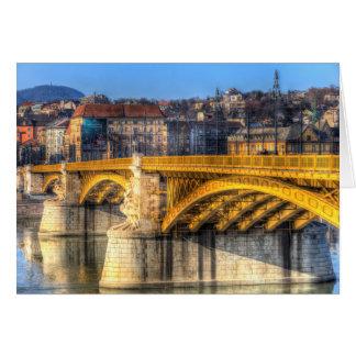 Cartão Ponte Budapest de Margaret