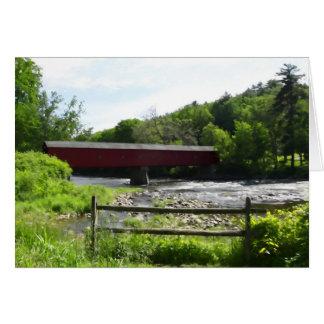 Cartão Ponte coberta Cornualha ocidental, CT
