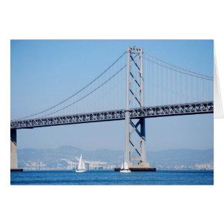 Cartão Ponte da baía de Oakland