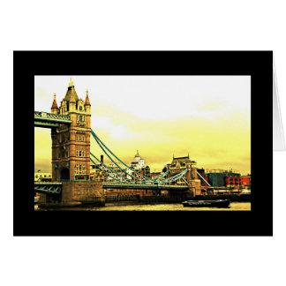 Cartão Ponte da torre de Londres