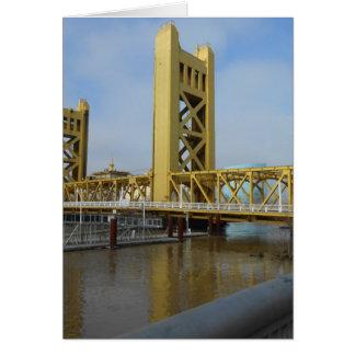Cartão Ponte da torre de Sacramento