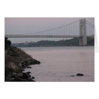 Cartão Ponte de George Washington