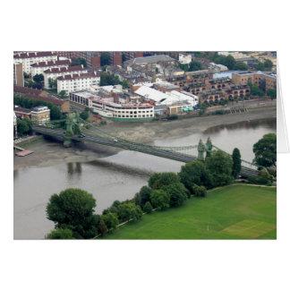 Cartão Ponte de Hammersmith