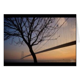 Cartão Ponte de Humber #4 [cartão]
