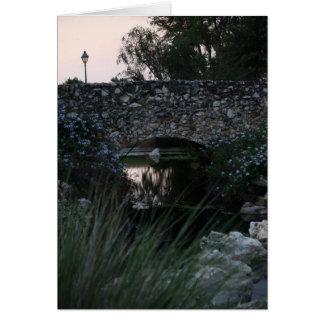 Cartão Ponte de pedra Notecard