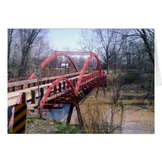 Cartão Ponte do Boner, Warrick County, Indiana