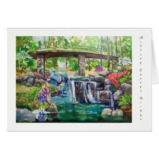 Cartão Ponte do dossel de Millsap em jardins de Garvan
