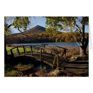 Cartão ponte nos picos