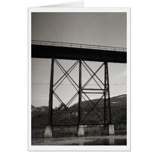 Cartão Ponte velha