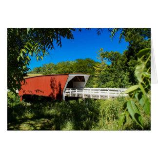 Cartão Pontes do Condado de Madison