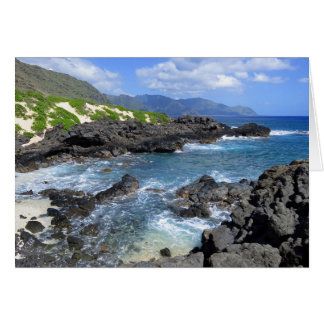 Cartão Ponto de Kaena, Oahu, Havaí