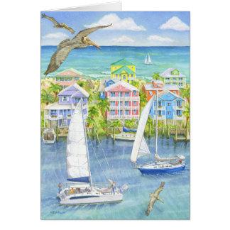 Cartão Ponto de vista do pelicano
