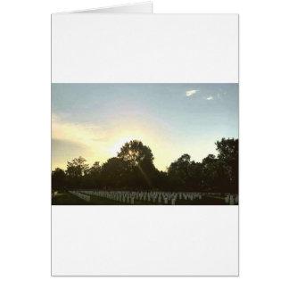 Cartão Por do sol #1