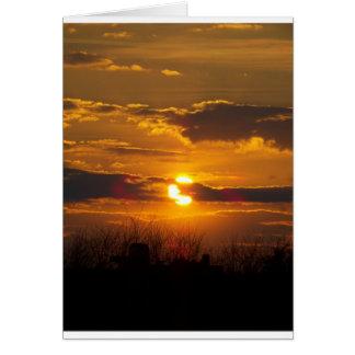 Cartão Por do sol 5