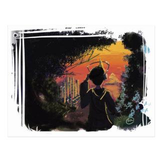 Cartão - por do sol lo-fi pelo micgurro