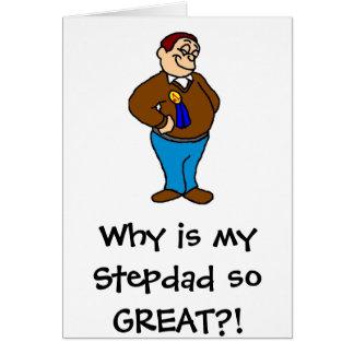 Cartão Porque é meu Stepdad tão GRANDE?!