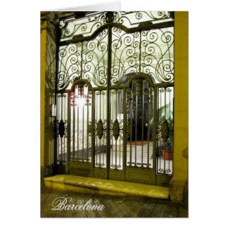 Cartão porta Barcelona de g/nc Barcelona L'Eixample