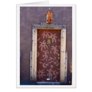 Cartão Porta do geco