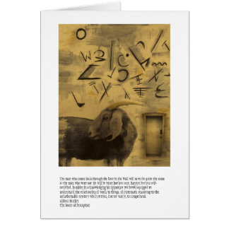 Cartão Portas da percepção