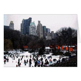 Cartão Portas do Central Park