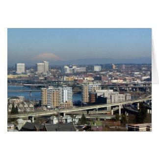 Cartão Portland viu do bonde aéreo