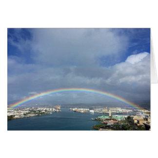 Cartão Porto de Honolulu