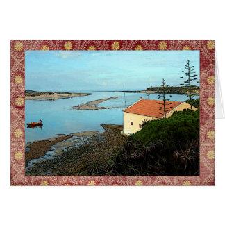 Cartão Porto em Milfontes, Portugal