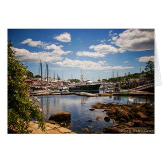 Cartão Porto Maine de Camden