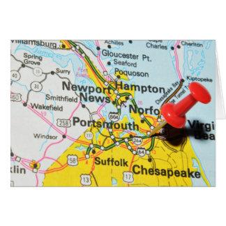 Cartão Portsmouth, Virgínia