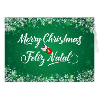 Cartão português do Feliz Natal, Feliz natal