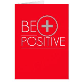 Cartão positivo do teste de gravidez