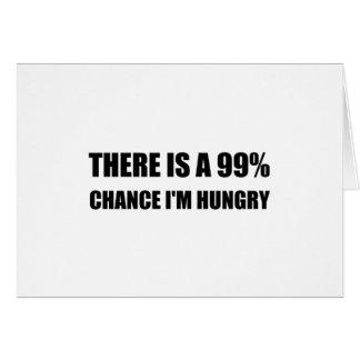 Cartão Possibilidade eu estou com fome