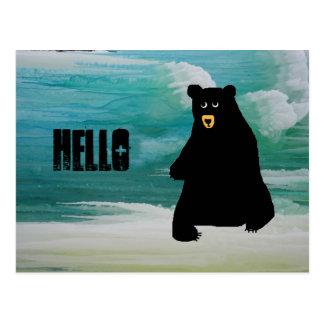 Cartão Postal 018 icymagic, blackbear, olá!