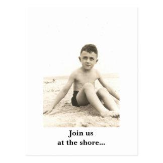 Cartão Postal 02 (2), juntam-se nos na costa… - Personalizado