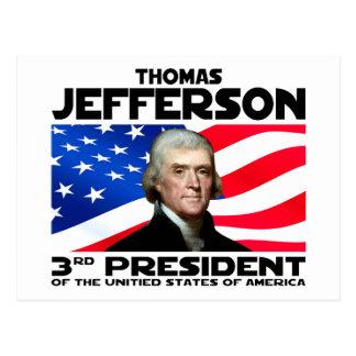Cartão Postal 03 Thomas Jefferson