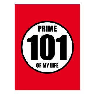 Cartão Postal 101 - prima de minha vida