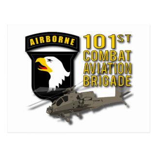 Cartão Postal 101st Aviação de combate - Apache
