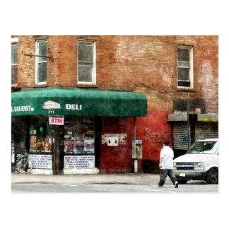 Cartão Postal 10o Avenida. Supermercado fino em Manhattan