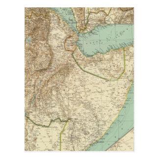 Cartão Postal 11617 Eritrea, Etiópia, Somália