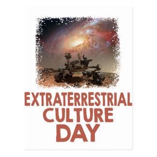 Cartão Postal 14 de fevereiro - dia da cultura do