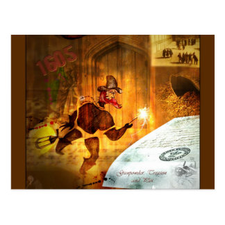 Cartão Postal 1605 - O lote da pólvora (detalhe)