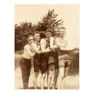 Cartão Postal 1900s Beach Boys